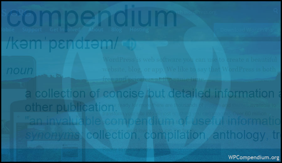 WPCompendium.org - Free WordPress Step-By-Step Tutorials
