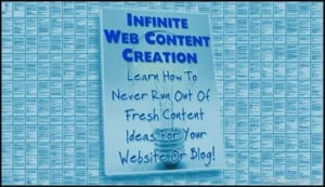 Infinite Content Creation - Free Content Creation Course