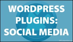 WordPress Plugins: Social Media