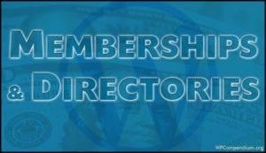 Memberships & Directories