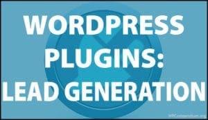 WordPress Plugins - Lead Generation