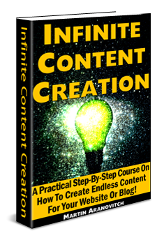 Infinite Content Creation
