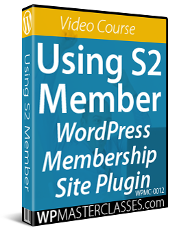How To Use S2Member Membership Plugin