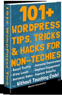 101+ WordPress Tips, Tricks & Hacks For Non-Techies